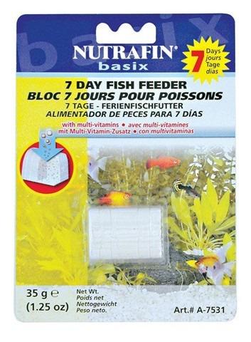 alimento para peces nutrafin basix para 7 dias
