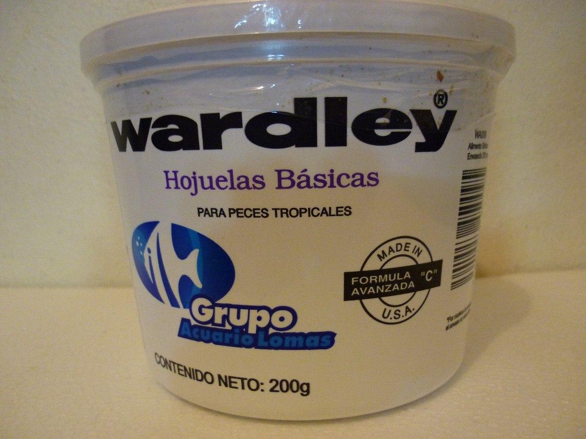 Alimento para peces tropicales en hojuela 200gr for Comida para peces tropicales acuario