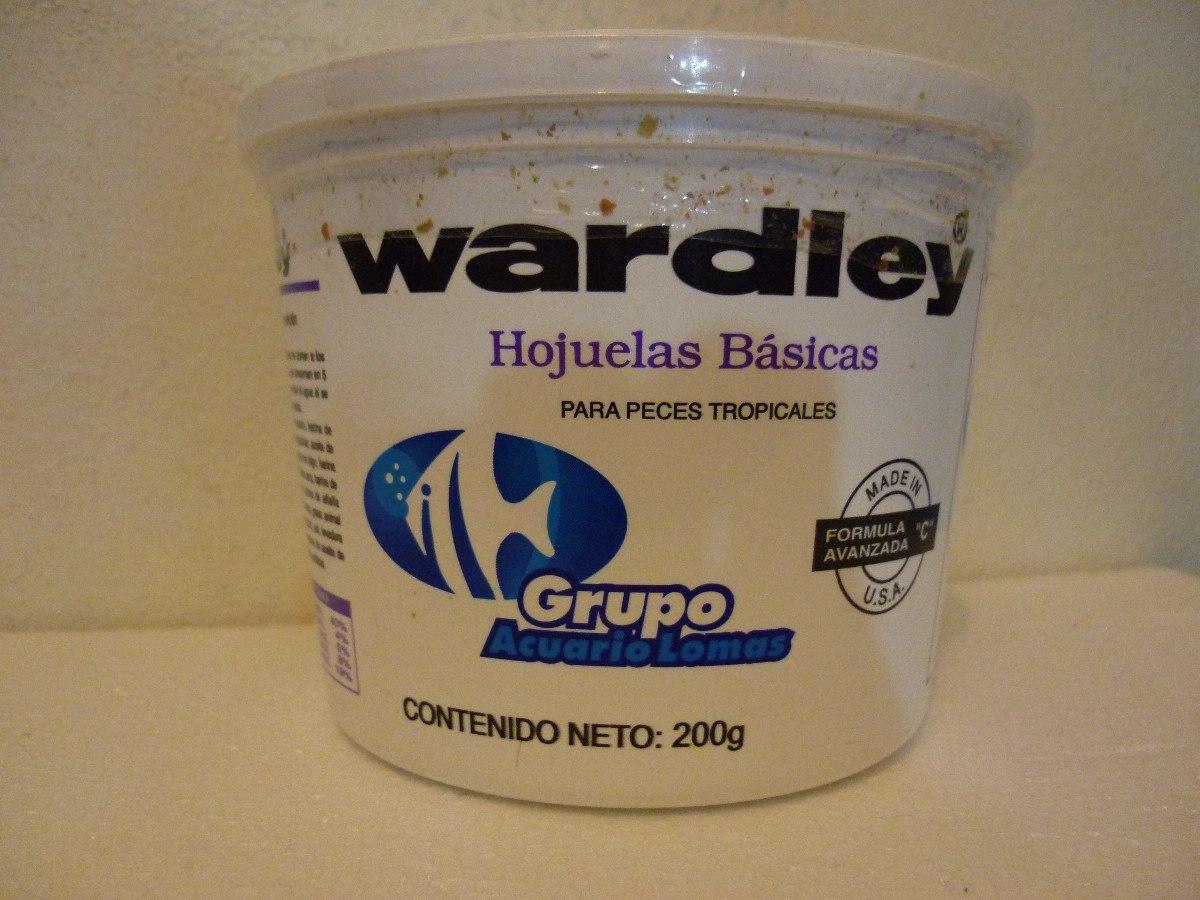 alimento para peces tropicales en hojuela 200gr