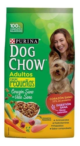 alimento para perro dog chow adulto razas pequeñas 7.5 kg