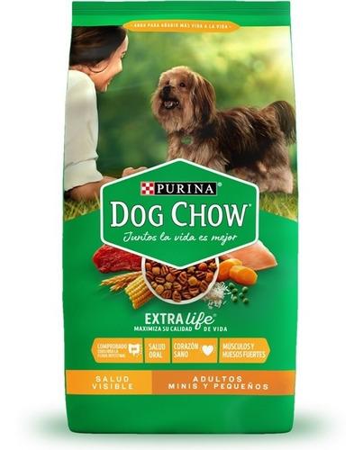 alimento para perro dog chow adultos razas pequeñas 25 kg