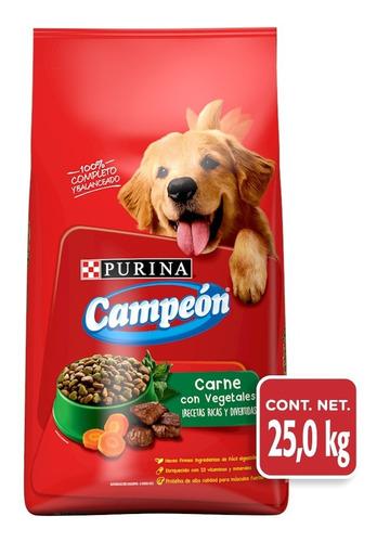 alimento para perro purina campeon recetas caseras adt 25 kg