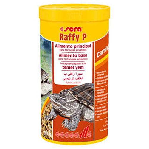 alimento para tortugas sera raffy p (207g/1.000ml) + envío