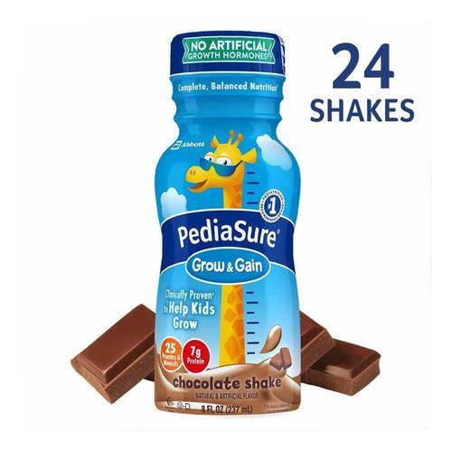 alimento pediasure chocolate 237 ml 24 botellas