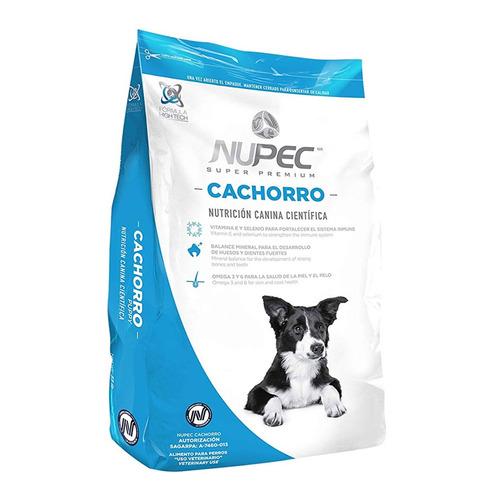 alimento perro croqueta raza mediana cachorro 5 kg nupec