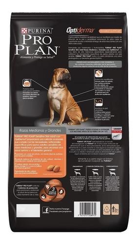 alimento perro purina pro plan adulto sensitive skin 13 kg