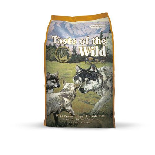alimento perro taste of the wild cachorros bisonte 14lb