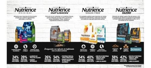 alimento perros nutrience infusion raza peq (2,27kgs)+ envío