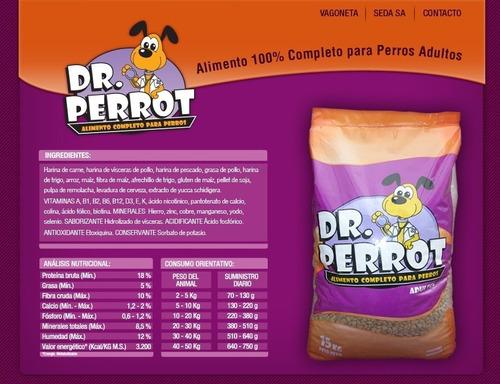 alimento perros perrot
