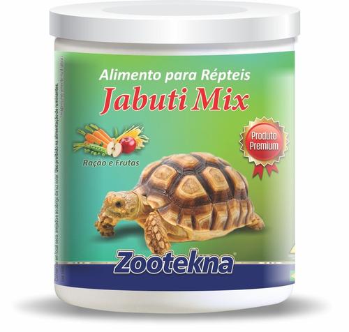 alimento premium jabuti mix - 200 g