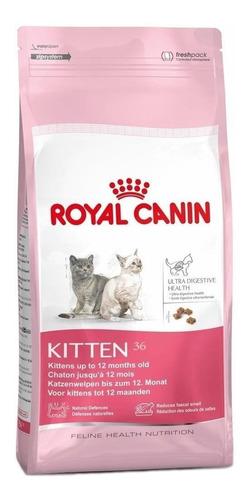 alimento royal canin feline health nutrition kitten 36 gato de temprana edad mix 7.5kg