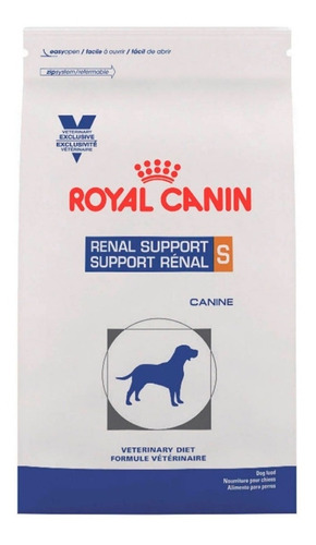 alimento royal canin renal support s - 8 kg para perro