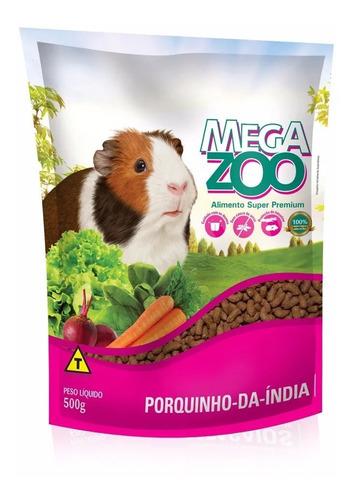 alimento super premium mega zoo mix cobayo cui 500g
