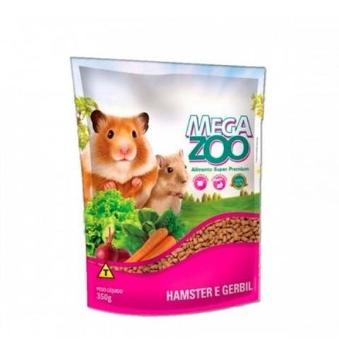 alimento super premium mega zoo mix hamster y jerbo 350g