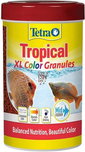 alimento tetra color 300 gr granulado peces discus cíclidos