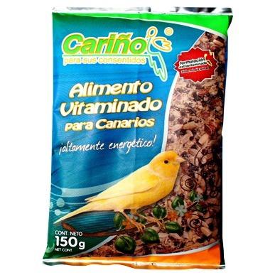 alimento vitaminado canarios 150 gr. cariño