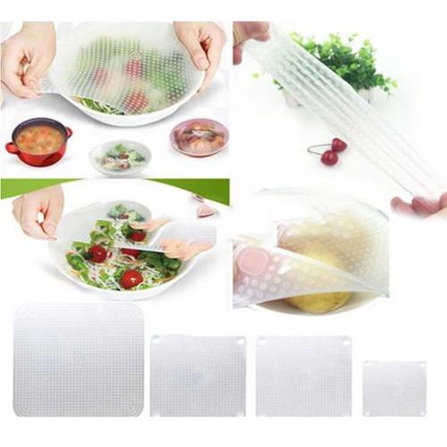 alimentos frescos silicona sello alusa