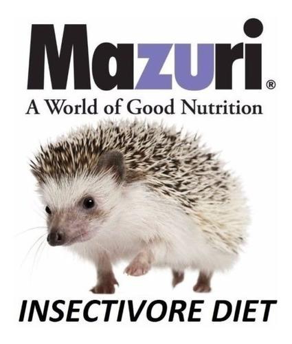 alimentos mazuri erizo insectívoros hedgehog diet 950 gr