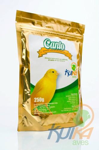 alimentos para canario