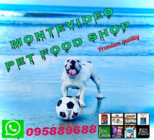 alimentos y accesorios para mascotas