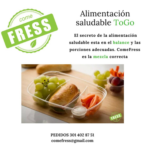 alimentos y snacks  saludables.