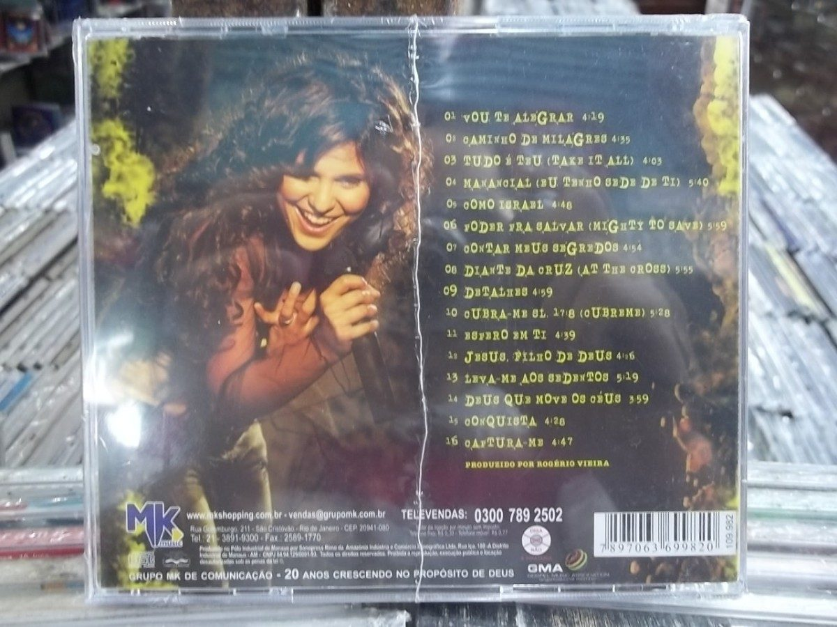 cd completo da aline barros caminhos de milagres