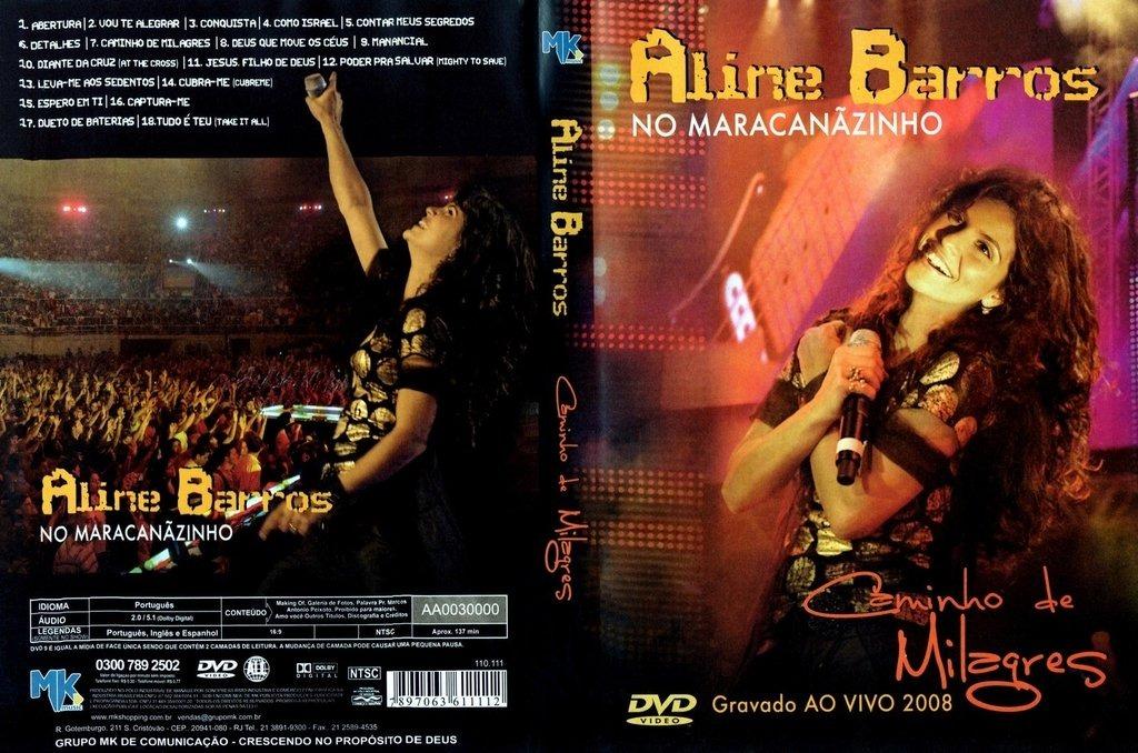 dvd aline barros caminho de milagres