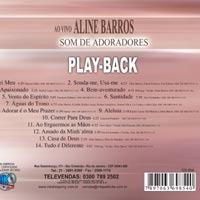 cd da aline barros som de adoradores playback
