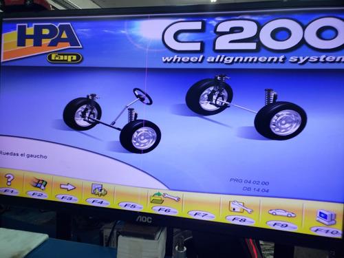 alineacion electronica de vehiculos