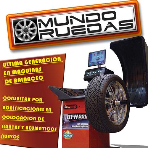 alineación y balanceo + rotación + revisión + mundo ruedas !