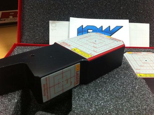 alineadora laser de karting