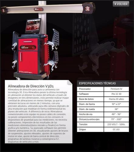 alineadora laser telme l400