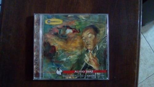 alirio diaz. musica de españa y america latina. cd-original