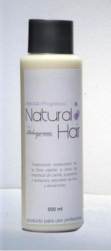 alisado progresivo natural hair x 1000ml (formula original)
