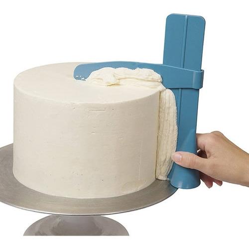 alisador bordes perfectos. regulable.scrapper buttercream