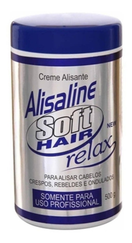 alisaline relax soft hair creme alisante 500g