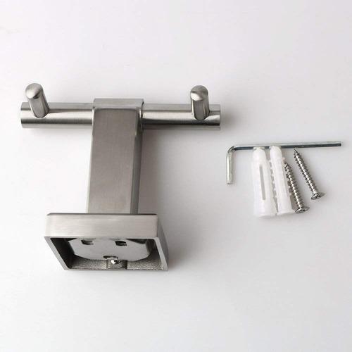 alise baño doble túnica gancho lavabo baño toalla gancho