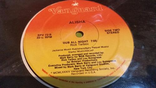 alisha baby talk vinilo maxi usa 3 versiones tapa vanguard