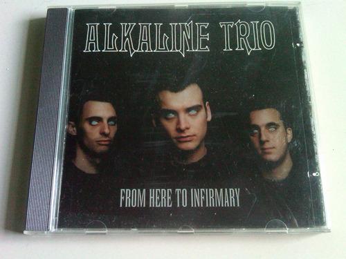 alkaline trio from here to infirmary cd usado import. brasil