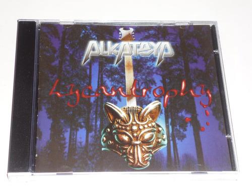 alkateya lycantrophy cd heavy power metal portugal