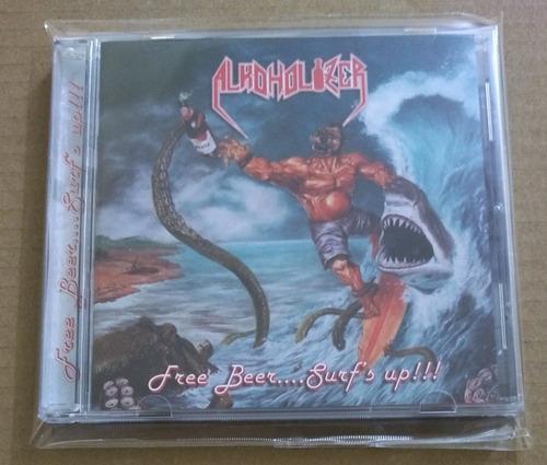 alkoholizer - free beer..surf's up!!!!! cd thrash metal