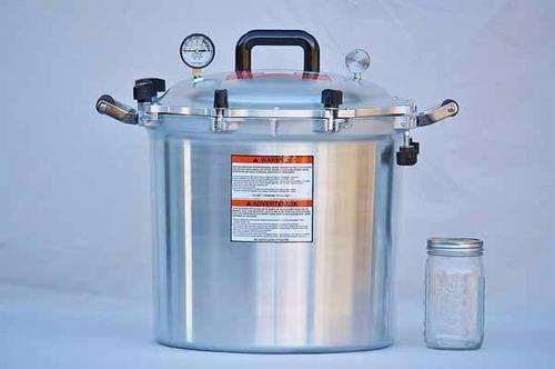 all american 39 litros olla presion envasador c/ manometro