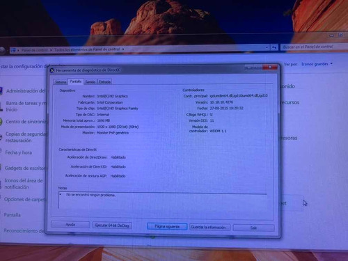 all in one  olidata core i3 3.4 ghz pantalla 21.5 todo en un