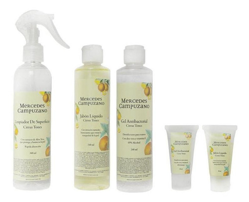 all kit antibacterial citrus tones