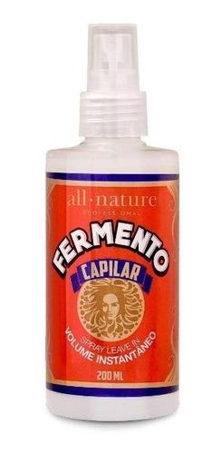 all nature - fermento capilar - leave-in volume instantâneo
