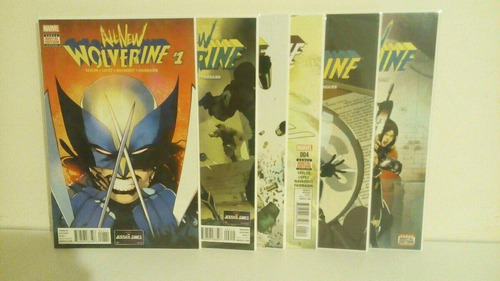 all new wolverine #1 - #12