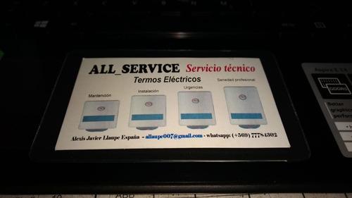all-service termos eléctricos mantención instalación repara