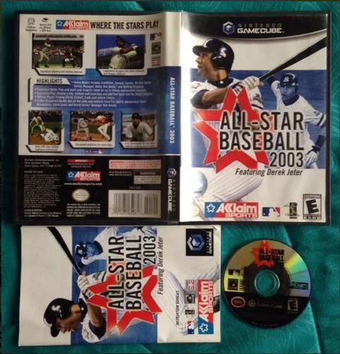 all-star baseball 2003 / gamecube - wii