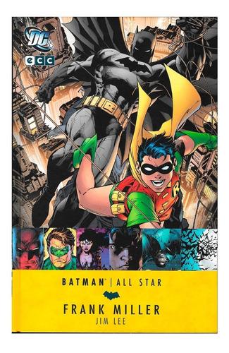 all star batman y robin - ed ecc - frank miller - jim lee