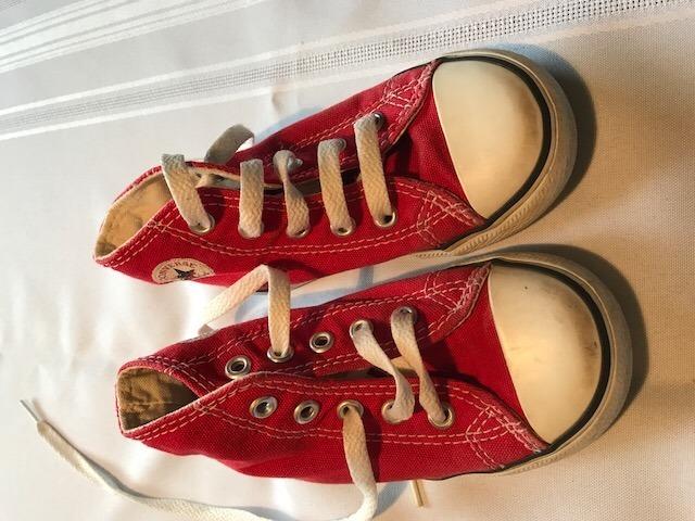 converse botitas rojas mercadolibre